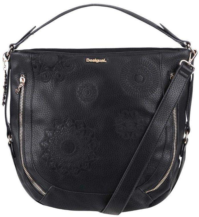 Čierna kabelka Desigual Marteta značky Desigual - Lovely.sk 8365861ac22