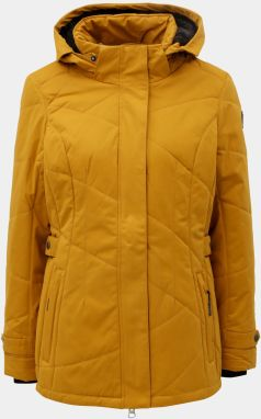 Horčicová dámska zimná nepremokavá bunda killtec 62be689a6f2