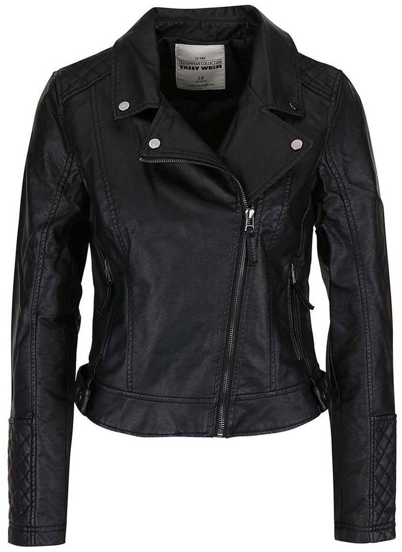 094e677dda5 Čierna koženková bunda TALLY WEiJL značky TALLY WEiJL - Lovely.sk
