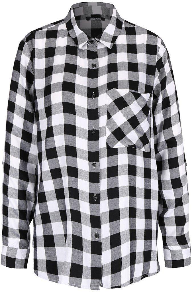 94ec9901a948 Čierno-biela kockovaná košeľa Haily s Alina značky Haily´s - Lovely.sk