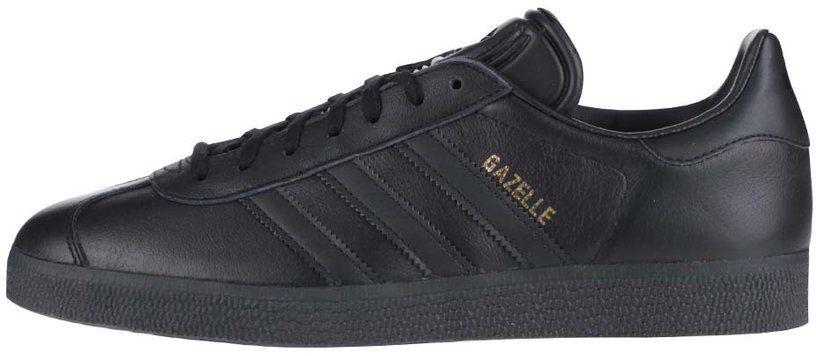 9e23cd9875 Čierne pánske kožené tenisky adidas Originals Gazelle značky adidas  Originals - Lovely.sk
