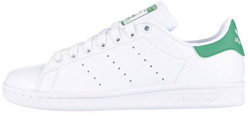 Biele dámske kožené tenisky s plastickým vzorom adidas Originals Stan Smith  značky adidas Originals - Lovely.sk 6de1770b97