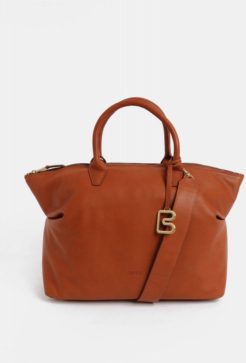 Hnedá veľká kožená kabelka do ruky BREE Stockholm 37 značky BREE - Lovely.sk f2178108967
