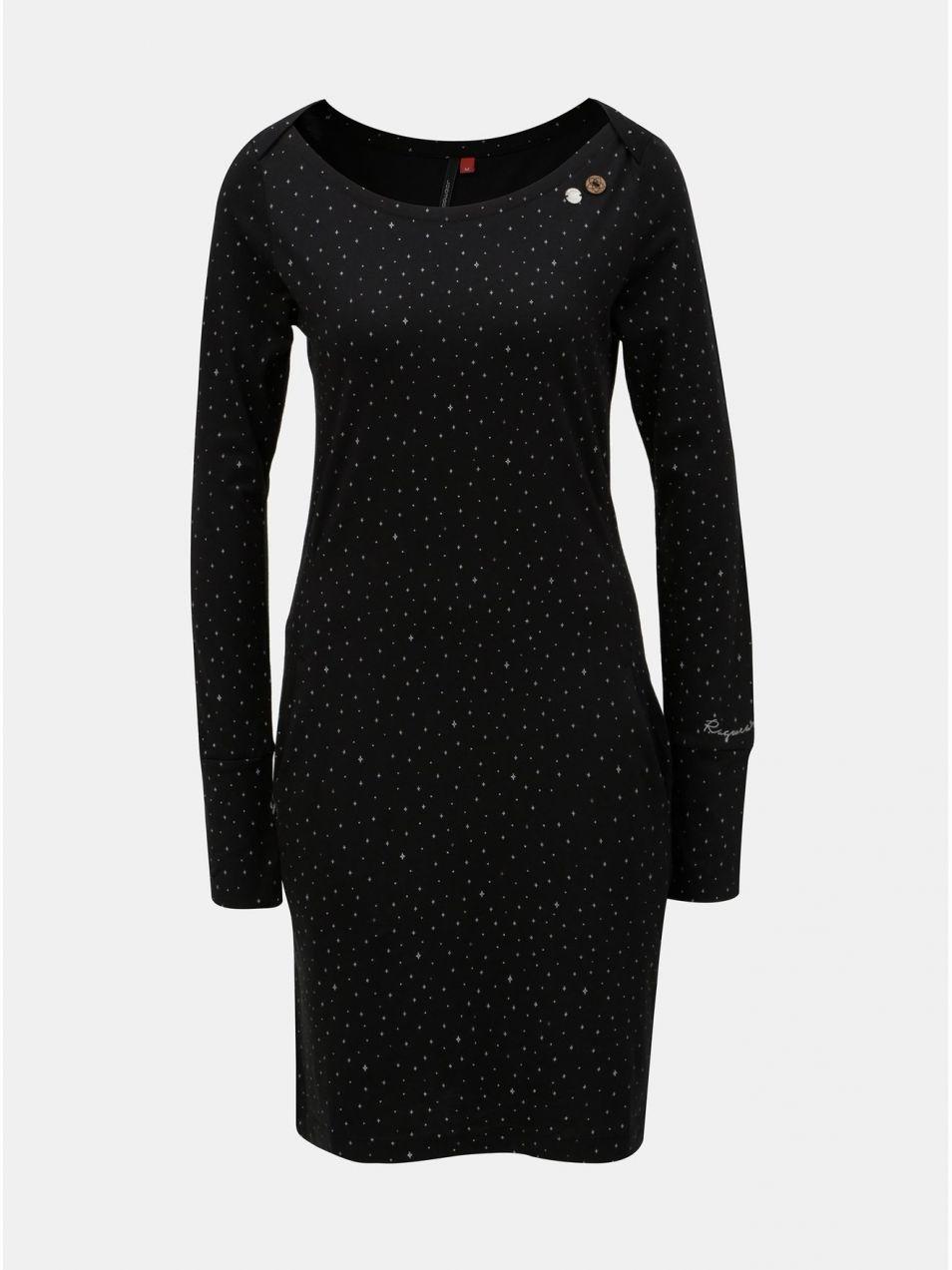 4ac088bd93fb Tmavomodré vzorované šaty s vreckami Ragwear River značky Ragwear -  Lovely.sk