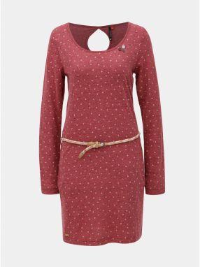 Červené čipkované šaty s dlhým rukávom Mela London značky Mela ... 961ac598601