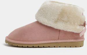 Ružové dámske zimné čižmy s.Oliver 2d8abe84e1e
