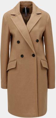 Hnedý kabát Dorothy Perkins Tall 23cce9fc2ab