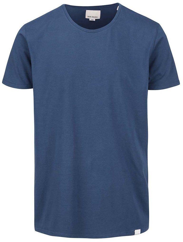 48239c75c448 Modré tričko s okrúhlym výstrihom Shine Original značky Shine Original -  Lovely.sk