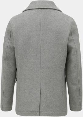 Sivý vlnený kabát Selected Homme značky Selected Homme - Lovely.sk 734269094f1