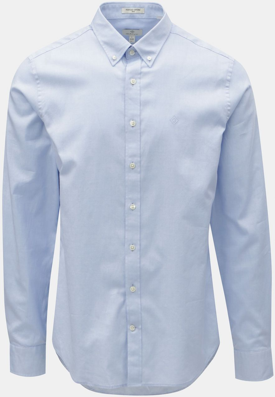 889e4809dbee Svetlomodrá pánska formálna slim fit košeľa GANT značky Gant - Lovely.sk