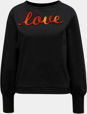 ad9e73fe5ce Oranžovo–čierna mikina ONLY Donna