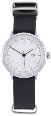 Dámske hodinky s čiernym koženým remienkom CHPO Harold Mini 6619e61f2f7