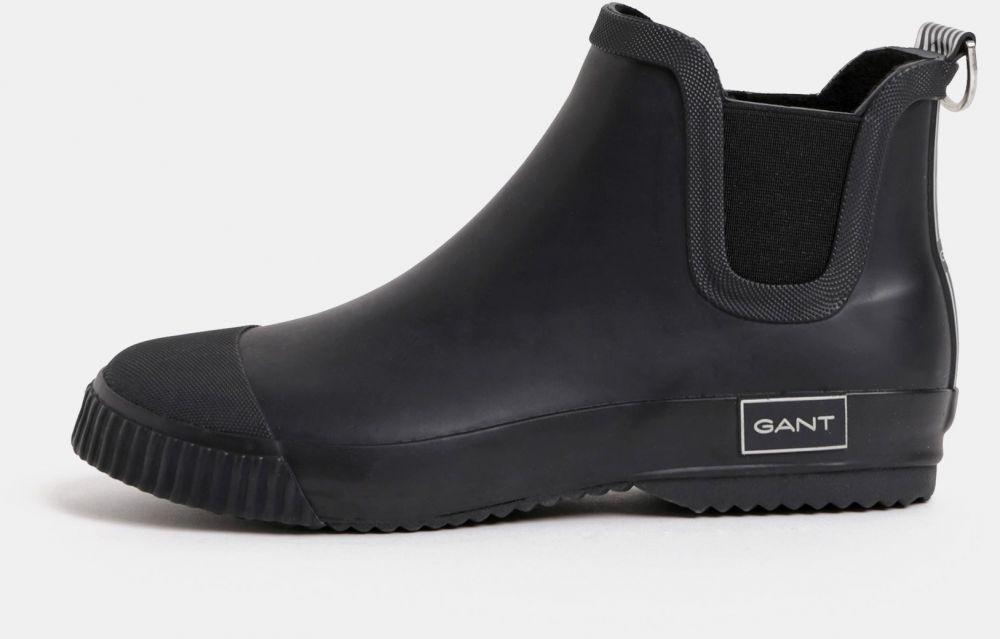 e5504cffe Čierne dámske gumové chelsea topánky GANT značky Gant - Lovely.sk