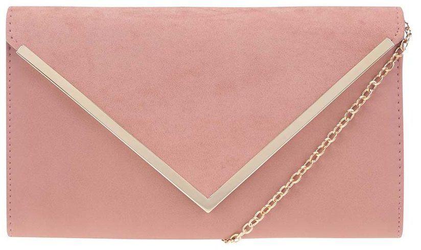 306733d42e Ružová listová kabelka s klopou v semišovej úprave ALDO Varina značky ALDO  - Lovely.sk