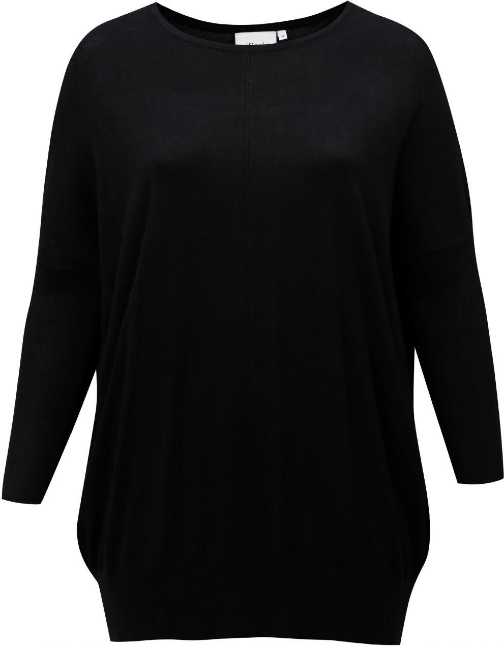 d525329d1c31 Čierny dlhý dámsky sveter Zizzi značky Zizzi - Lovely.sk