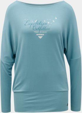 Modré dámske tričko s netopierími rukávmi BUSHMAN Pensacola b111bb1405c