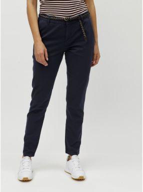 cc6a9a79ba92 Modré chino nohavice VERO MODA Leah značky Vero Moda - Lovely.sk