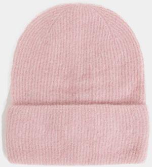 13086d8d0 Ružová vlnená čiapka Pieces Josefine