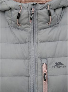 Sivá páperová nepremokavá bunda M Co značky M Co - Lovely.sk bdcf6ce92cf