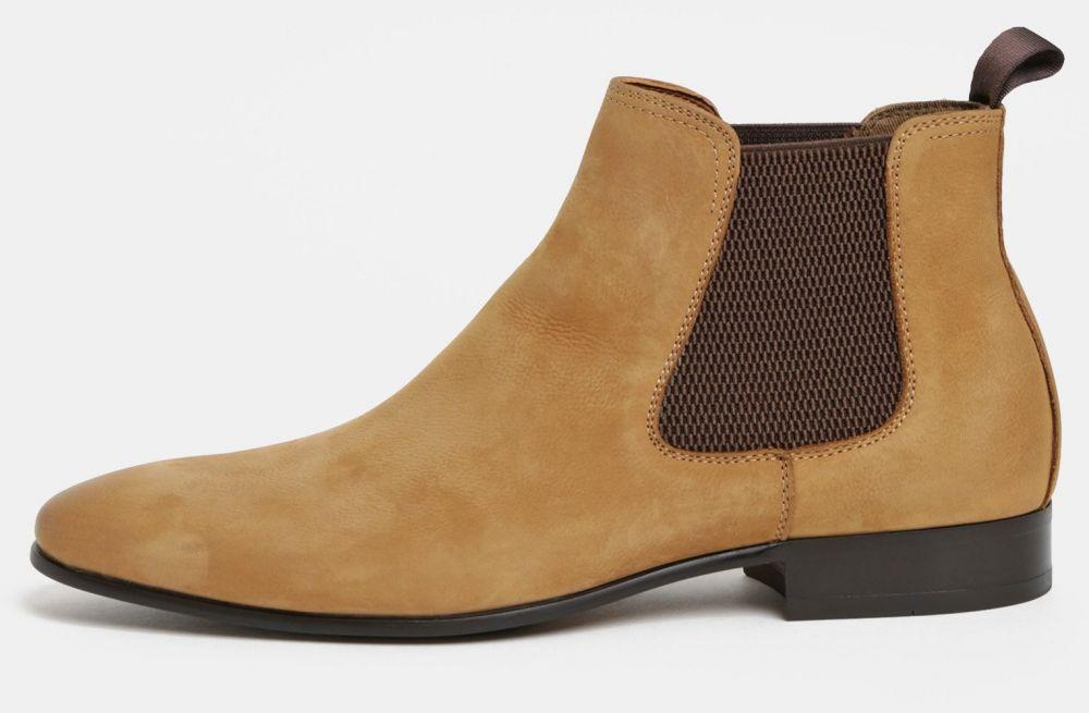 fadb5ea8e431 Hnedé pánske kožené chelsea topánky ALDO Chenadien značky ALDO - Lovely.sk