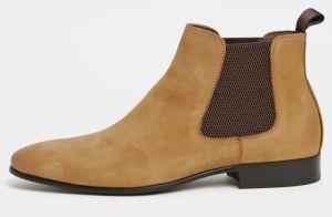 Hnedé pánske kožené chelsea topánky ALDO Chenadien 5502ff70056