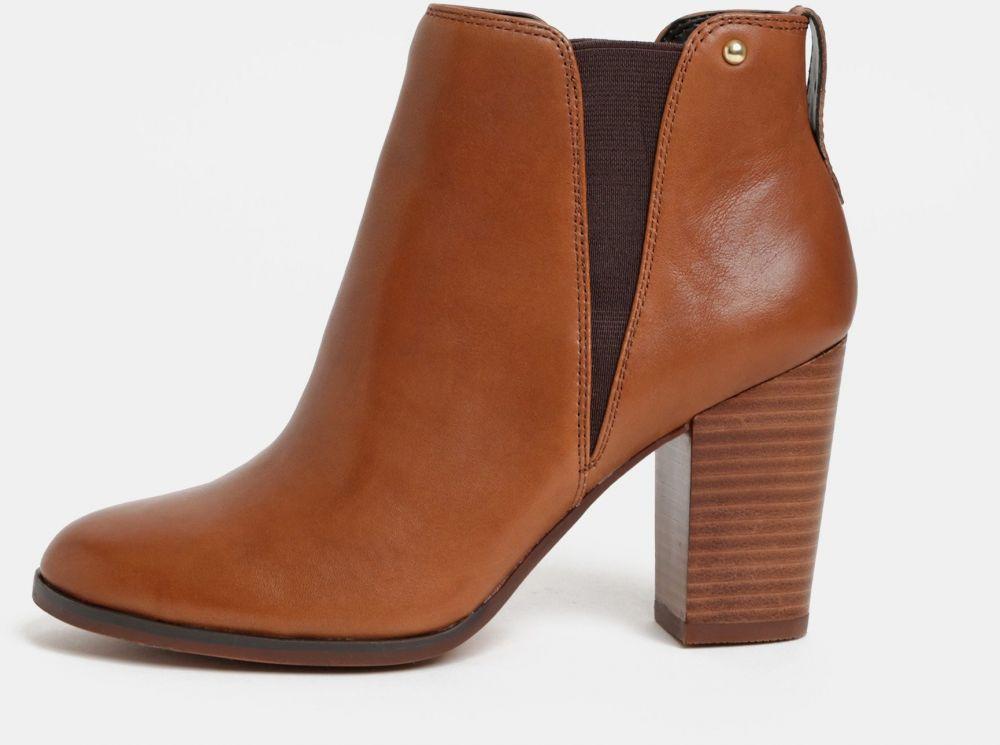 94a62ee73f25 Hnedé dámske kožené chelsea topánky ALDO značky ALDO - Lovely.sk
