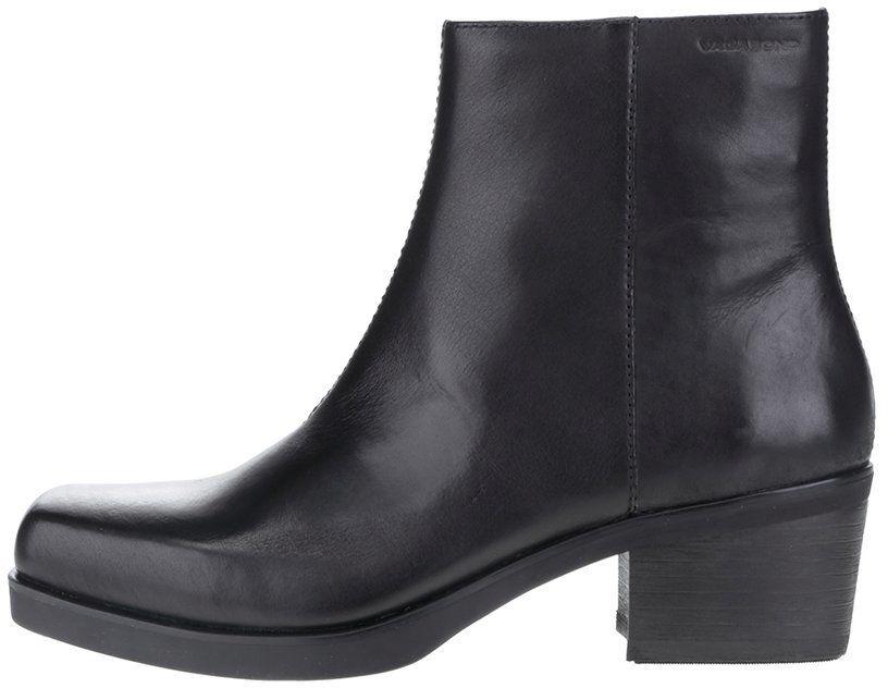 9091369581 Čierne dámske kožené členkové topánky Vagabond Ariana značky Vagabond -  Lovely.sk
