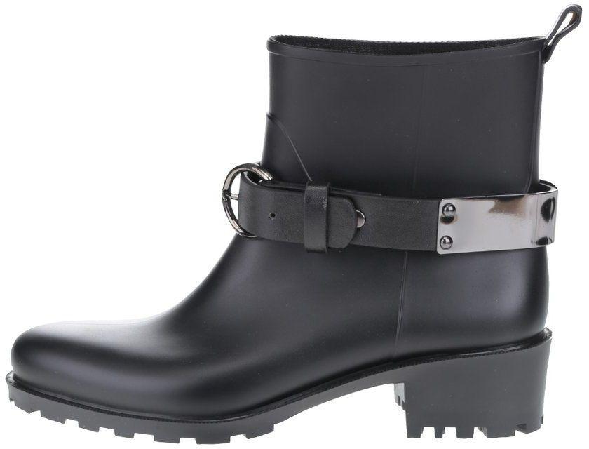 Čierne dámske nízke čižmy s remienkom OJJU Nevada značky OJJU - Lovely.sk 3e7608addcd