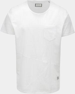 a0512179e3da Biele tričko s krátkym rukávom Shine Original Andy značky Shine ...