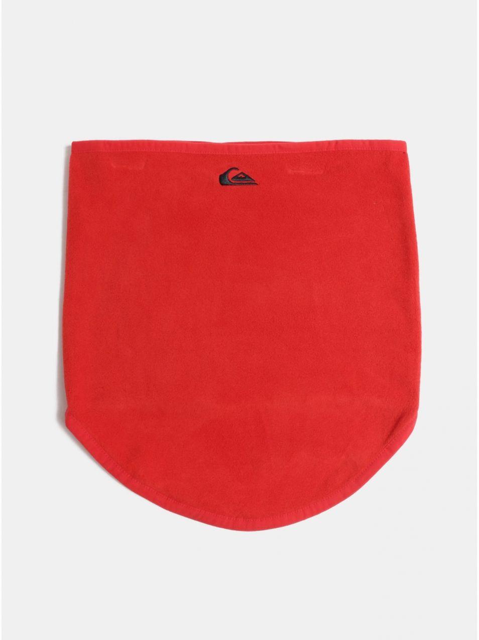 Červený chlapčenský nákrčník s výšivkou Quiksilver Casper You značky  Quiksilver - Lovely.sk c79e7e672ee