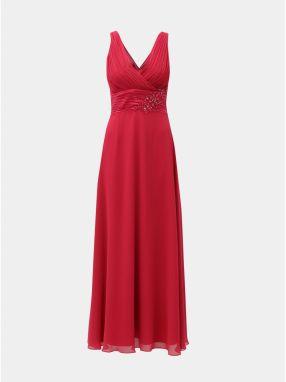 5c7c3cab13ea Červené šaty s čipkovaným sedom Dorothy Perkins značky Dorothy ...