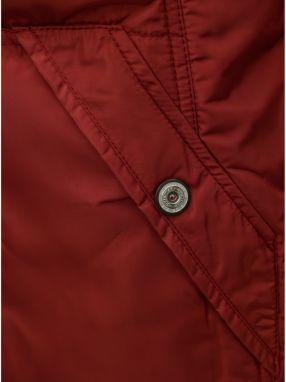 Červený dámsky nepremokavý zimný kabát killtec Treva značky KILLTEC ... 49a76c49e67