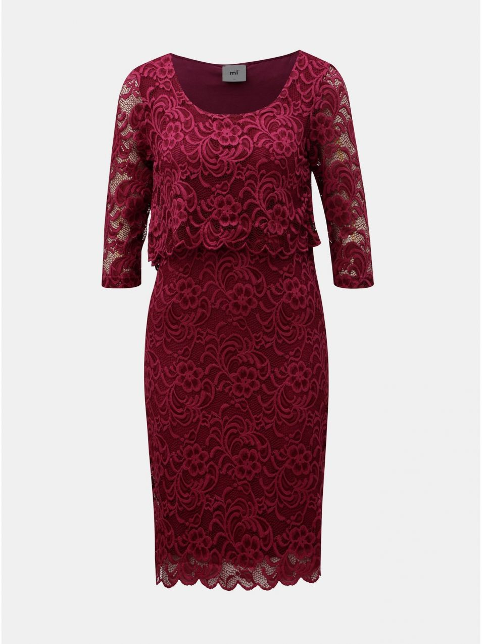 ee4310bfbc62 Ružové tehotenské čipkované šaty vhodné na dojčenie Mama.licious Mivane
