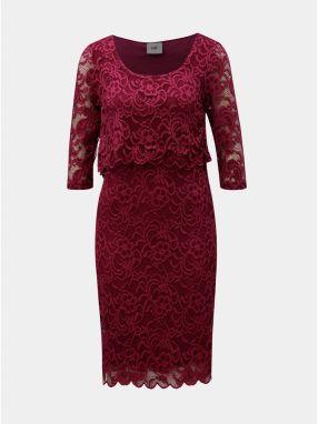 f82daa01e753 Ružové tehotenské čipkované šaty vhodné na dojčenie Mama.licious Mivane