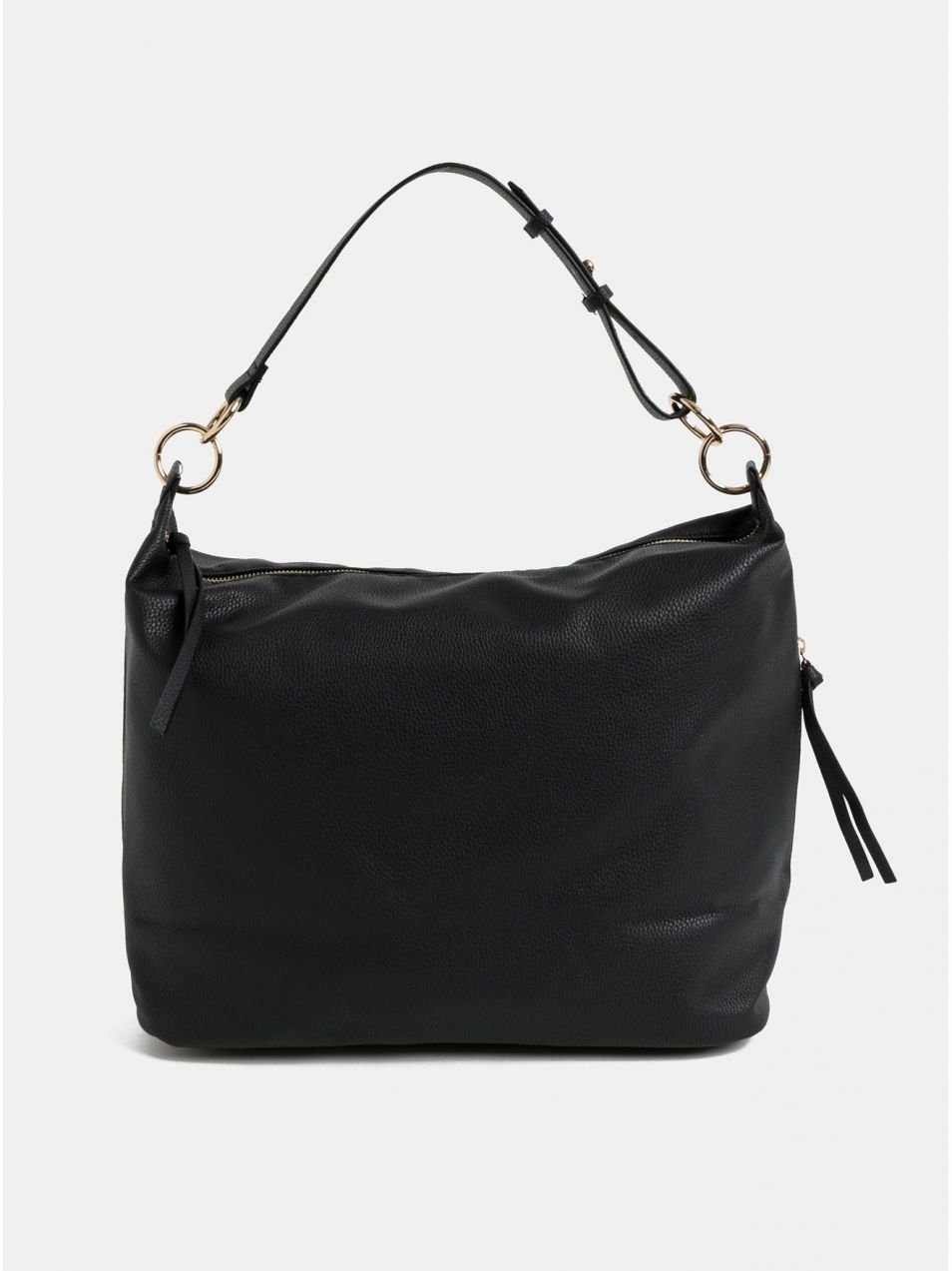 4590cebe34 Čierna veľká kabelka so strapcami Dorothy Perkins značky Dorothy Perkins -  Lovely.sk