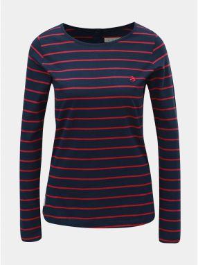 9a0908390ac3 Ružovo–modré dámske pruhované tričko Brakeburn