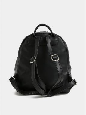 Čierny koženkový batoh s predným vreckom ZOOT značky ZOOT - Lovely.sk daea865904c
