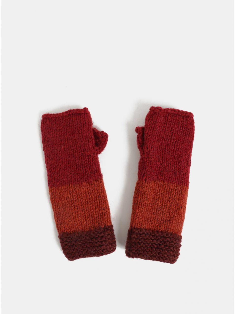 d14537681 Červené vlnené návleky na ruky Tranquillo Tullu značky Tranquillo -  Lovely.sk