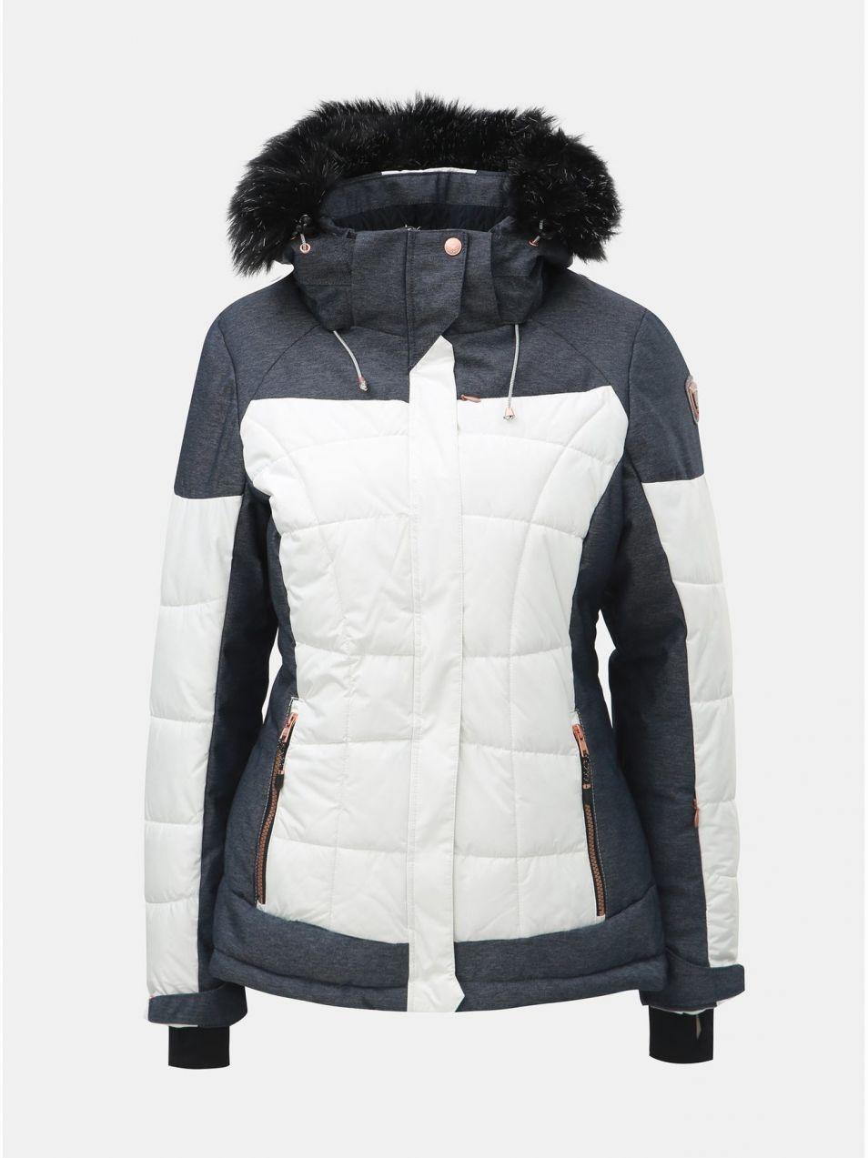 820a04a760 Modro–biela dámska nepremokavá lyžiarska bunda killtec Embla značky KILLTEC  - Lovely.sk