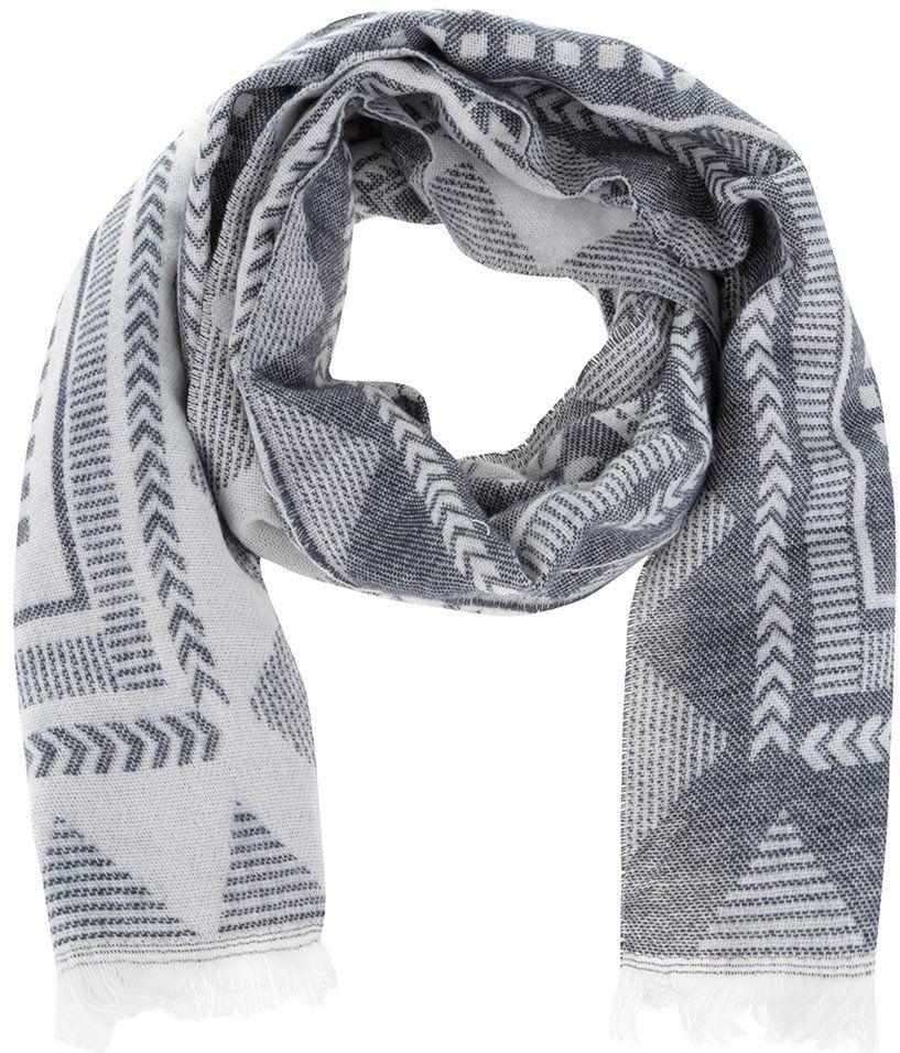 Krémovo-modrý vzorovaný šál Haily s Antonella značky Haily´s - Lovely.sk 9fb76e21b7