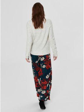 d03f78012169 Krémový melírovaný sveter s prímesou vlny Selected Femme Enva značky ...