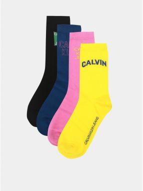 54c4465d31c Balenie štyroch párov dámskych ponožiek v čiernej