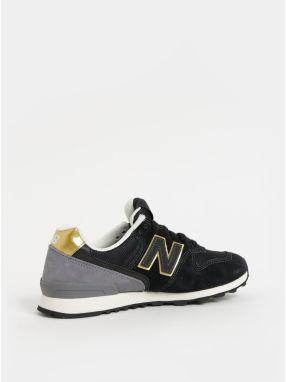 Čierne dámske semišové tenisky New Balance značky New Balance ... 7585712ec3c