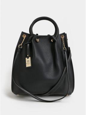 Čierna veľká kabelka s odnímateľným vnútorným puzdrom 2v1 Bessie London b26744c3b6b