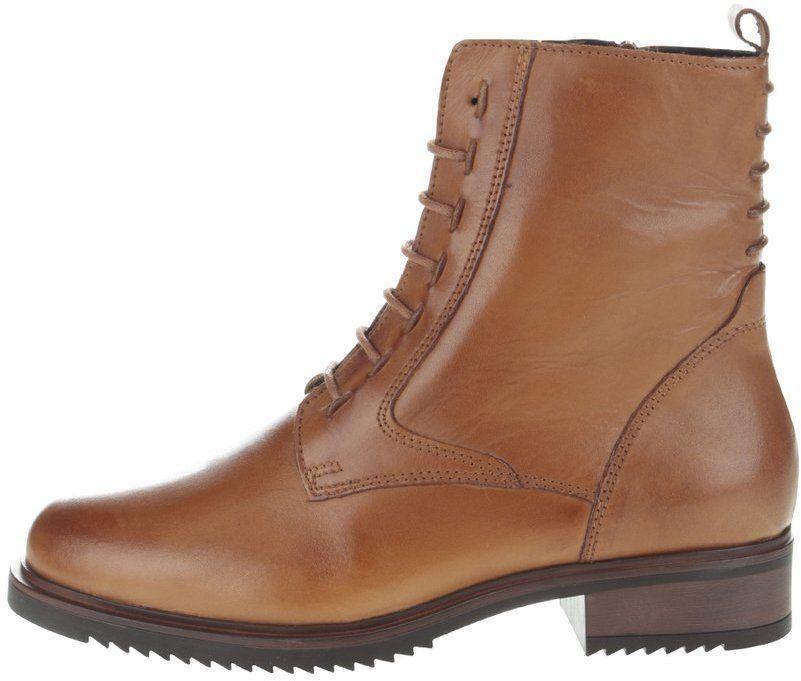 127731b98 Svetlohnedé kožené vyššie členkové topánky Tamaris značky Tamaris -  Lovely.sk