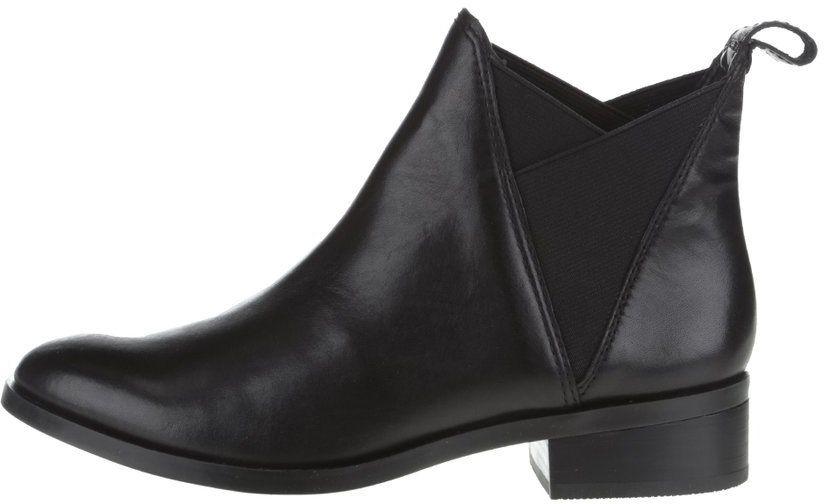 d1747f342f96c Čierne kožené dámske chelsea topánky ALDO Scotch značky ALDO - Lovely.sk