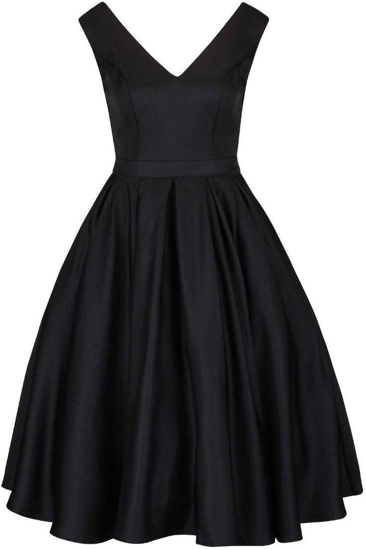 a0dfcd04a076 Čierne šaty s výstrihom na chrbte a tylovou sukňou Chi Chi London značky Chi  Chi London - Lovely.sk