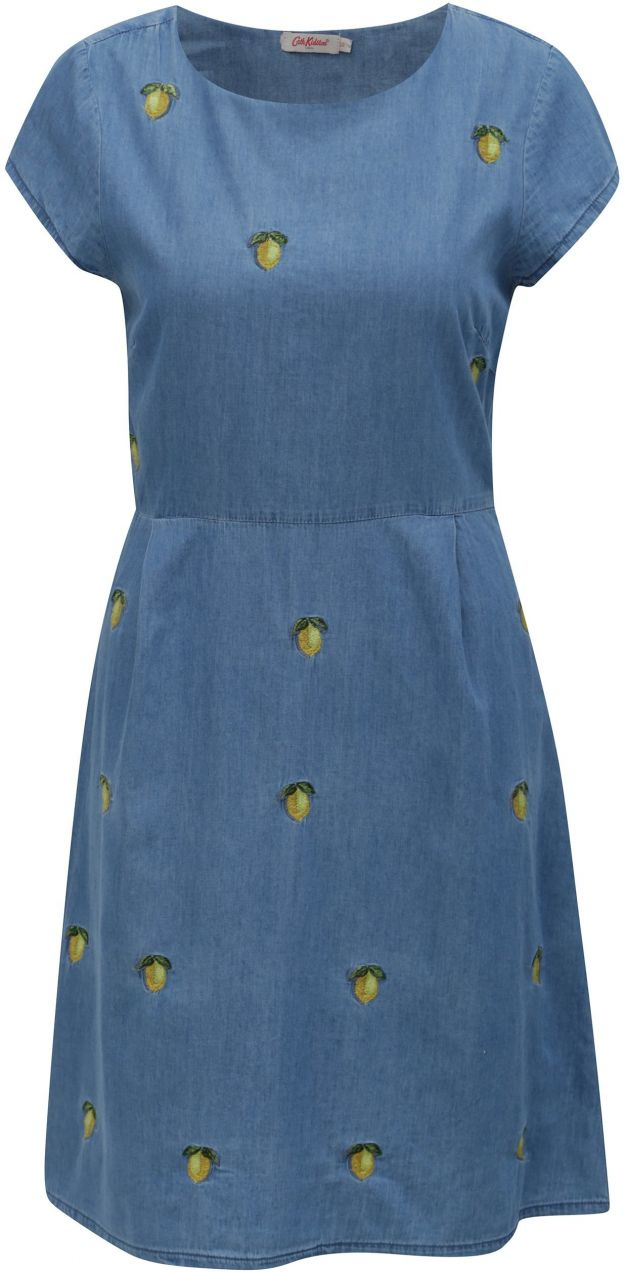 34ee2ce77 Modré dámske rifľové šaty s motívom citrónov Cath Kidston značky Cath  Kidston - Lovely.sk
