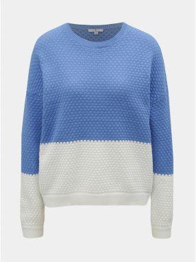 0ab763b2ca2b Bielo–modrý dámsky sveter Tom Tailor