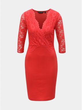 955deba5f3b1 Červené šaty s odhalenými ramenami Dorothy Perkins značky Dorothy ...